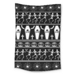 Halloween pattern Large Tapestry