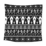 Halloween pattern Square Tapestry (Large)