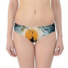 Halloween Landscape Hipster Bikini Bottoms by ValentinaDesign
