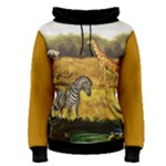 Jungle Safari woman - Women s Pullover Hoodie