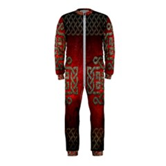 The Celtic Knot With Floral Elements Onepiece Jumpsuit (kids) by FantasyWorld7