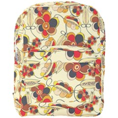 Flower Seed Rainbow Rose Full Print Backpack by Mariart