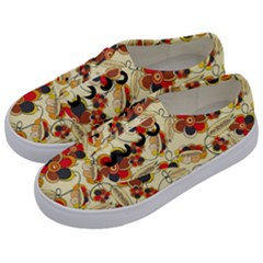 Flower Seed Rainbow Rose Kids  Classic Low Top Sneakers by Mariart