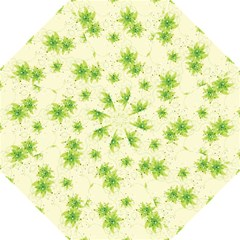 Leaf Green Star Beauty Folding Umbrellas by Mariart