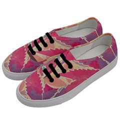 Marijuana Heart Cannabis Rainbow Pink Cloud Women s Classic Low Top Sneakers by Mariart