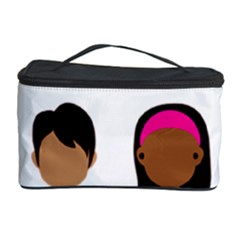 Black Girls Be The Best You Cosmetic Storage Case by kenique