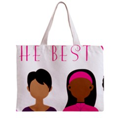 Black Girls Be The Best You Zipper Mini Tote Bag by kenique