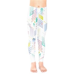 Layer Capital City Building Kids  Legging by Mariart