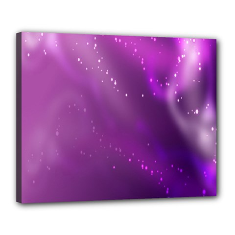 Space Star Planet Galaxy Purple Canvas 20  X 16  by Mariart