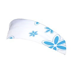Star Flower Blue Stretchable Headband