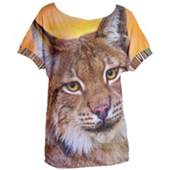 Tiger Beetle Lion Tiger Animals Women s Oversized Tee
