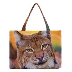 Tiger Beetle Lion Tiger Animals Medium Tote Bag by Mariart