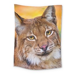 Tiger Beetle Lion Tiger Animals Medium Tapestry by Mariart