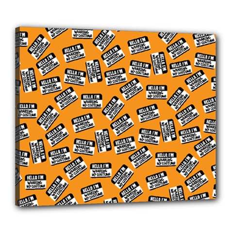 Pattern Halloween  Canvas 24  X 20  by iCreate