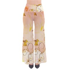 Wonderful Floral Design In Soft Colors Pants by FantasyWorld7