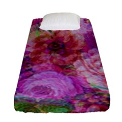 Acid Vintage Fitted Sheet (single Size) by QueenOfEngland