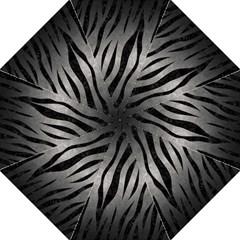 Skin3 Black Marble & Gray Metal 1 (r) Hook Handle Umbrellas (large) by trendistuff