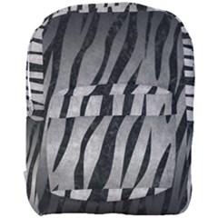 Skin3 Black Marble & Gray Metal 1 (r) Full Print Backpack by trendistuff