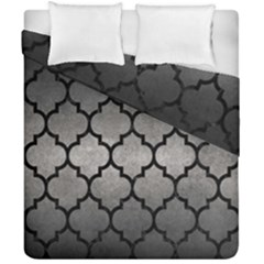 Tile1 Black Marble & Gray Metal 1 (r) Duvet Cover Double Side (california King Size) by trendistuff