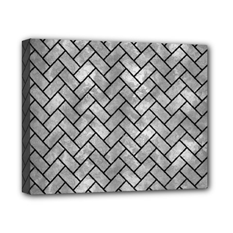 Brick2 Black Marble & Gray Metal 2 (r) Canvas 10  X 8  by trendistuff