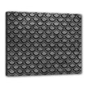 SCALES2 BLACK MARBLE & GRAY LEATHER (R) Canvas 20  x 16  View1