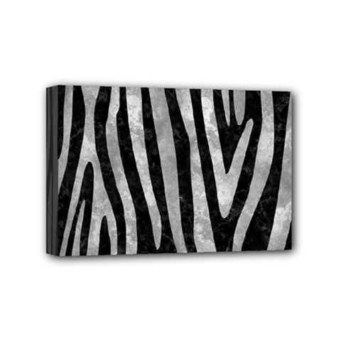 Skin4 Black Marble & Gray Metal 2 (r) Mini Canvas 6  X 4  by trendistuff