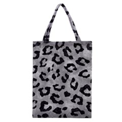 Skin5 Black Marble & Gray Metal 2 Classic Tote Bag by trendistuff