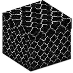Tile1 Black Marble & Gray Metal 2 Storage Stool 12   by trendistuff