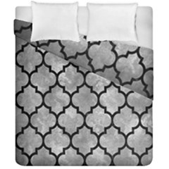 Tile1 Black Marble & Gray Metal 2 (r) Duvet Cover Double Side (california King Size) by trendistuff