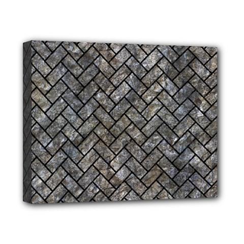 Brick2 Black Marble & Gray Stone (r) Canvas 10  X 8  by trendistuff