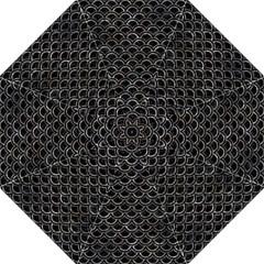 Scales2 Black Marble & Gray Stone Hook Handle Umbrellas (large) by trendistuff