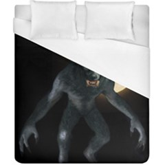 Werewolf Duvet Cover (california King Size) by Valentinaart