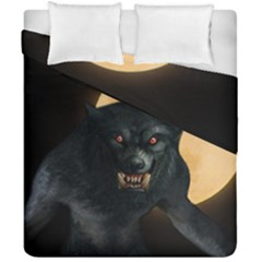 Werewolf Duvet Cover Double Side (california King Size) by Valentinaart