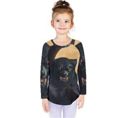 Werewolf Kids  Long Sleeve Tee by Valentinaart