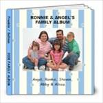 20 PAGED FAMILY BOOK - 8x8 Photo Book (20 pages)