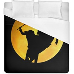 Headless Horseman Duvet Cover (king Size) by Valentinaart