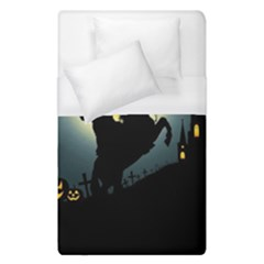 Headless Horseman Duvet Cover (single Size) by Valentinaart