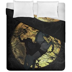 Headless Horseman Duvet Cover Double Side (california King Size) by Valentinaart
