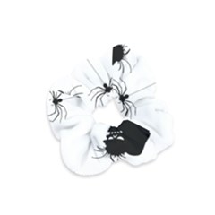 Halloween Velvet Scrunchie by Valentinaart