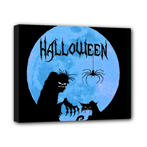 Halloween Canvas 10  X 8  by Valentinaart