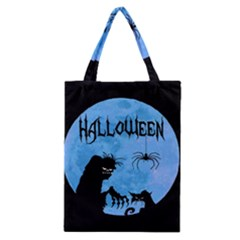 Halloween Classic Tote Bag by Valentinaart