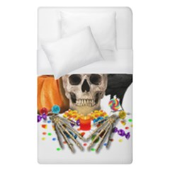 Halloween Candy Keeper Duvet Cover (single Size) by Valentinaart