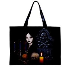 Vampires Night  Zipper Mini Tote Bag by Valentinaart