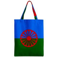 Gypsy Flag Zipper Classic Tote Bag by Valentinaart