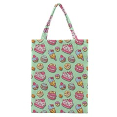 Sweet Pattern Classic Tote Bag by Valentinaart