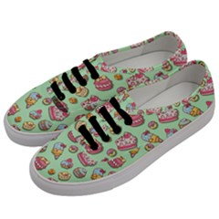 Sweet Pattern Men s Classic Low Top Sneakers by Valentinaart