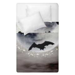 Bats On  The Moon Duvet Cover Double Side (single Size) by AllOverIt