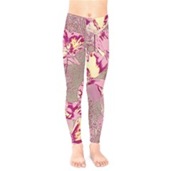 Amazing Glowing Flowers 2b Kids  Legging by MoreColorsinLife