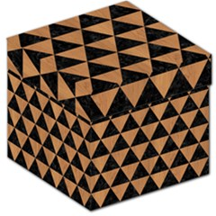 Triangle3 Black Marble & Light Maple Wood Storage Stool 12   by trendistuff