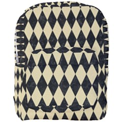 Diamond1 Black Marble & Light Sand Full Print Backpack by trendistuff